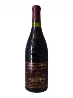 Chateauneuf-du-Pape Domaine Saint-Préfert Cuvée Rouge et Noir 1990 Bottle (75cl)