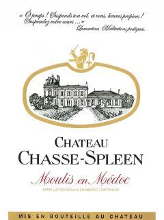 Château Chasse-Spleen 2012 Original wooden case of 6 bottles (6x75cl)