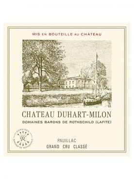 Château Duhart-Milon 2011 Original wooden case of 12 bottles (12x75cl)