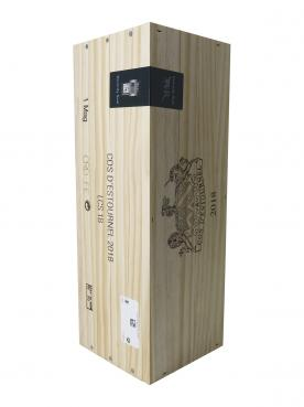 Château Cos d'Estournel 2018 Original wooden case of one magnum (1x150cl)