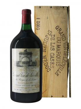 Château Léoville Las Cases 1982 Original wooden case of one double magnum (1x300cl)