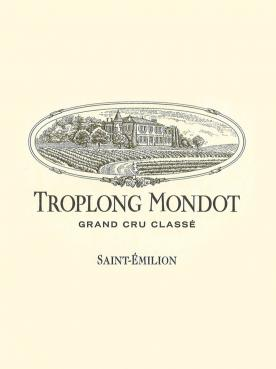 Château Troplong Mondot 2015 Original wooden case of 6 bottles (6x75cl)