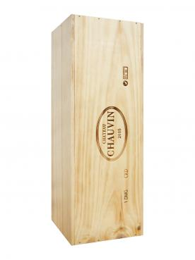 Château Chauvin 2015 Original wooden case of one double magnum (1x300cl)