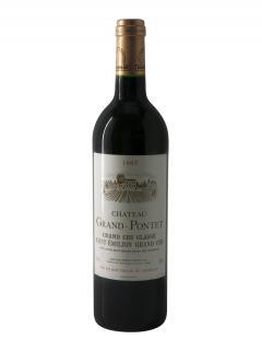 Château Grand Pontet 1997 Original wooden case of 12 bottles (12x75cl)