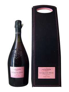 Champagne Veuve Clicquot Ponsardin La Grande Dame Rosé Brut 1998 Coffret d'une bouteille (75cl)