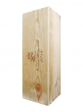 Château Mouton Rothschild 2016 Original wooden case of one impériale (1x600cl)