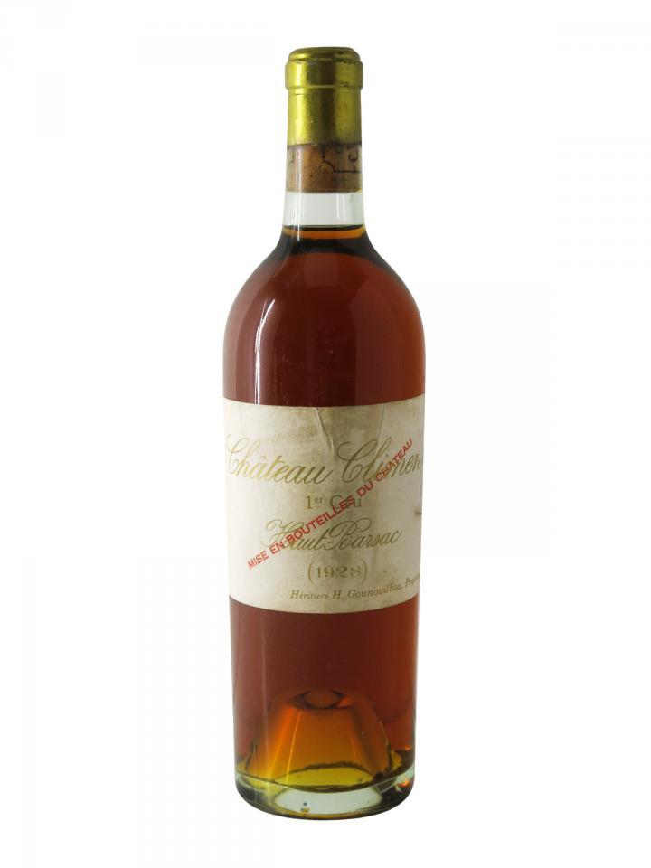 Château Climens 1928 Bottle (75cl)