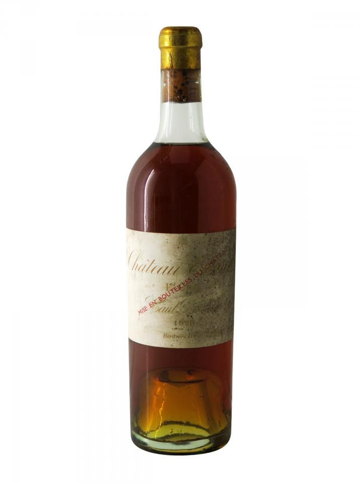 Château Climens 1920 Bottle (75cl)