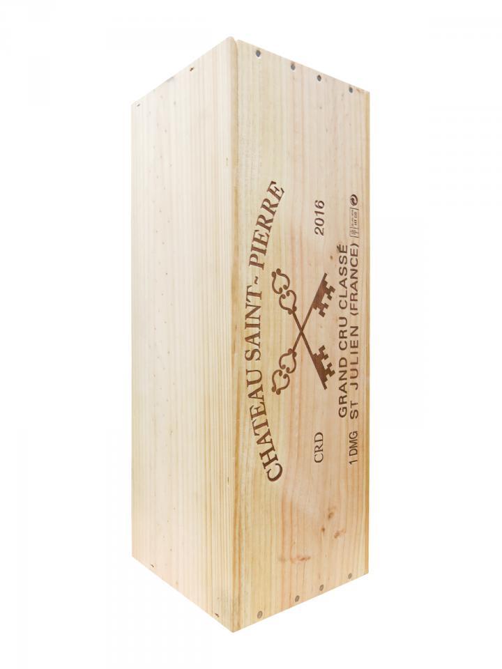 Château Saint-Pierre 2016 Original wooden case of one double magnum (1x300cl)