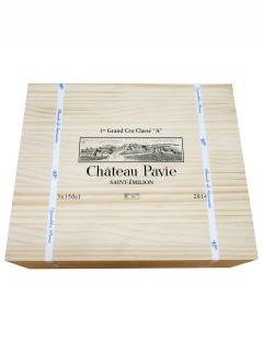 Château Pavie 2014 Original wooden case of 3 magnums (3x150cl)
