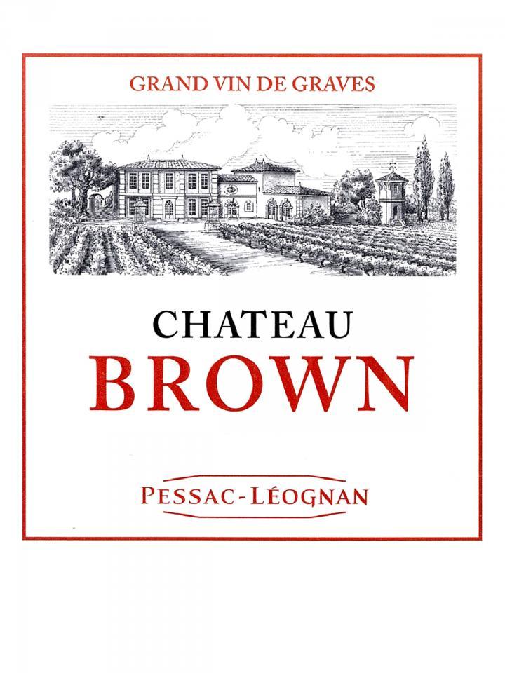 Château Brown 2015 Original wooden case of 12 bottles (12x75cl)