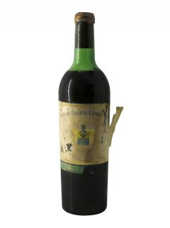 Château Bastor Lamontagne 1937 Bottle (75cl)