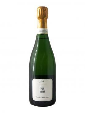 Champagne Franck Bonville Pur Avize Blanc de Blancs Grand Cru 2012 Bottle (75cl)