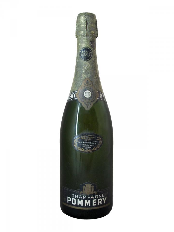 Champagne Pommery Brut 1973 Bottle (75cl)