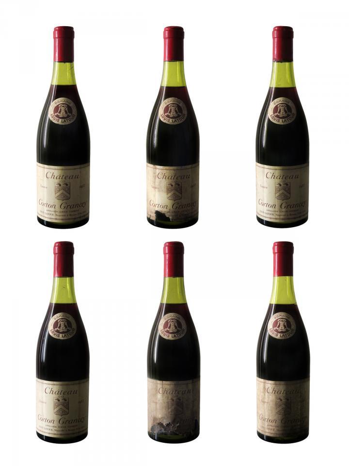 Corton Grand Cru Grancey Louis Latour 1957 6 bottles (6x75cl)