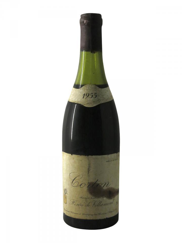Corton Henri de Villamont 1955 Bottle (75cl)