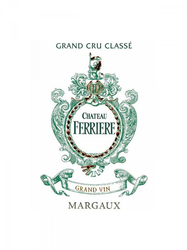 Château Ferrière 2001 Original wooden case of 6 magnums (6x150cl)