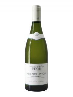 Saint-Aubin 1er Cru Les Champlots Domaine Françoise & Denis Clair 2017 Bottle (75cl)