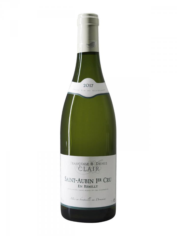 Saint-Aubin 1er Cru En Remilly Domaine Françoise & Denis Clair 2017 Bottle (75cl)