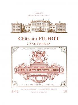 Château Filhot 2014 Original wooden case of 24 half bottles (24x37.5cl)