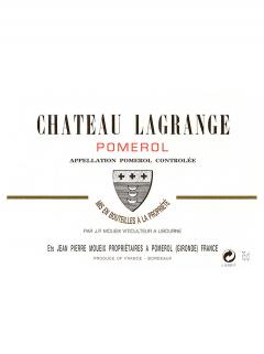 Château Lagrange (Pomerol) 2012 Original wooden case of 12 bottles (12x75cl)