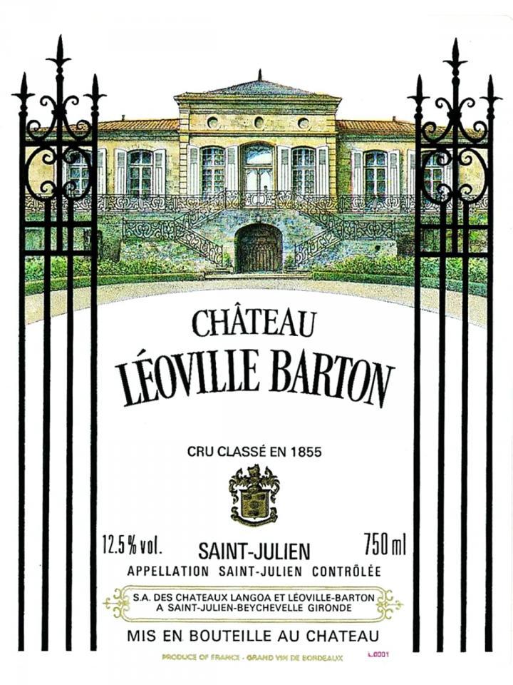 Château Léoville Barton 2012 Original wooden case of 6 bottles (6x75cl)
