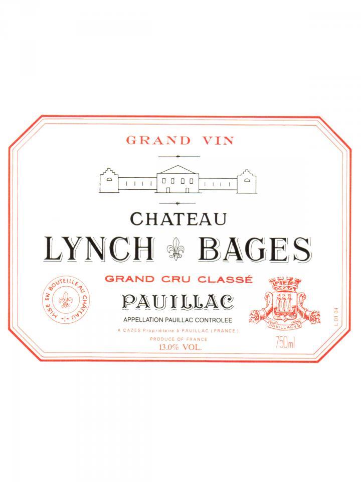 Château Lynch Bages 2000 Original wooden case of 12 bottles (12x75cl)