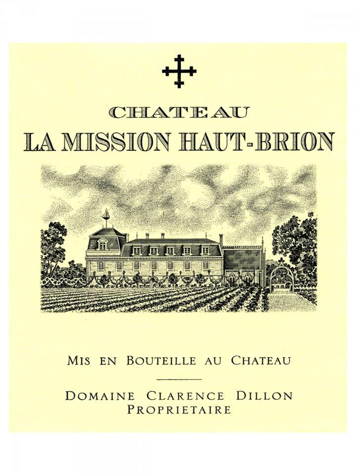 Château La Mission Haut-Brion 2000 Original wooden case of 12 bottles (12x75cl)