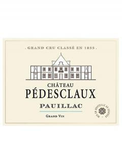 Château Pédesclaux 2015 Original wooden case of 12 bottles (12x75cl)