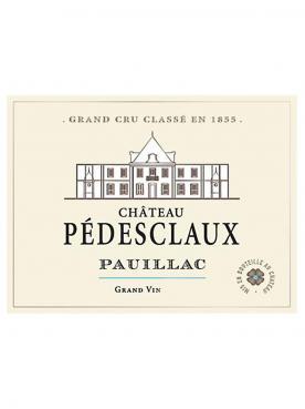 Château Pédesclaux 2015 Original wooden case of 12 bottles (12x75cl)