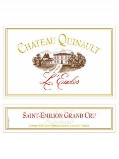 Château Quinault L'Enclos 2015 Original wooden case of 6 bottles (6x75cl)