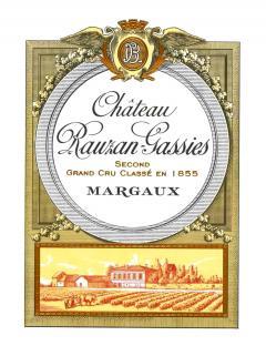 Château Rauzan-Gassies 1928 Bottle (75cl)