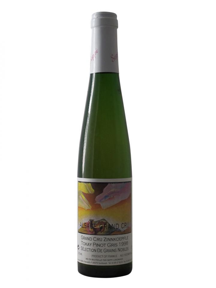 Tokay Pinot Gris Grand Cru Zinnkoepfle Sélection de Grains Nobles Seppi Landmann 1998 Half bottle (37.5cl)