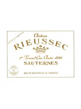 Château Rieussec 2015 Original wooden case of 12 half bottles (12x37.5cl)