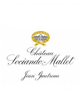 Château Sociando-Mallet 2009 Original wooden case of 12 bottles (12x75cl)