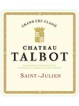 Château Talbot 1986 Bottle (75cl)