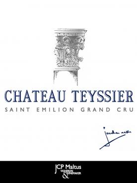 Château Teyssier 1959 Original wooden case of 12 bottles (12x75cl)