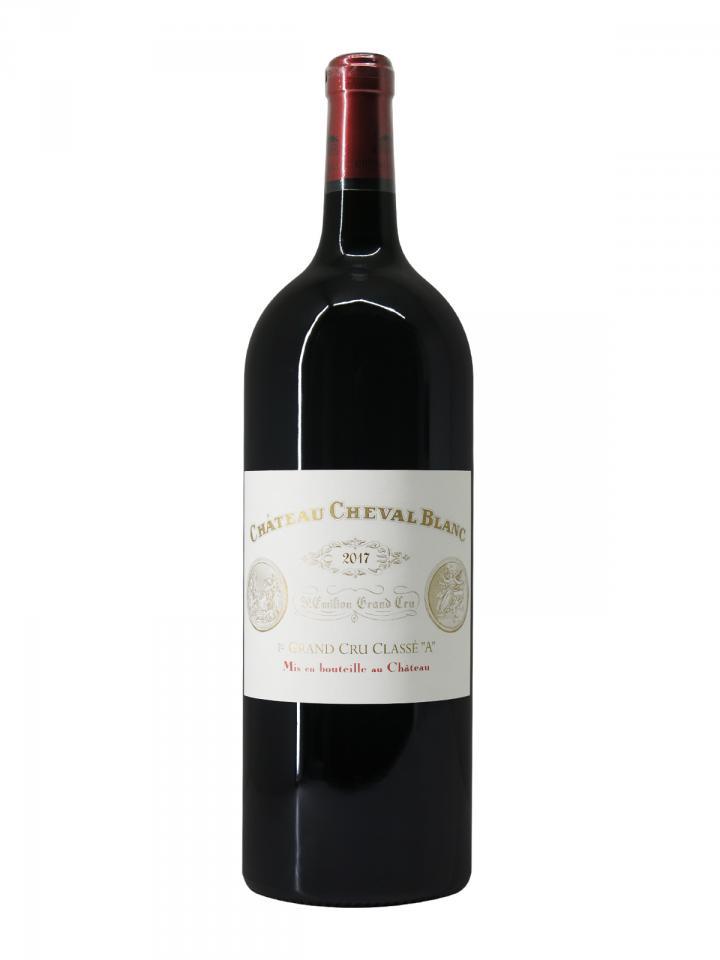 Château Cheval Blanc 2017 Original wooden case of one magnum (1x150cl)