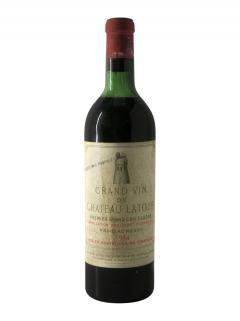 Château Latour 1954 Bottle (75cl)