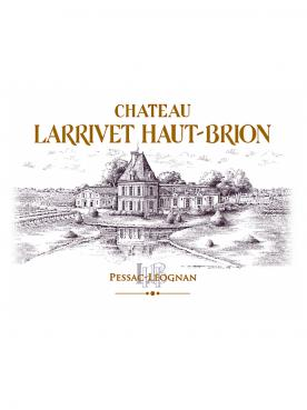 Château Larrivet Haut-brion 2015 6 bottles (6x75cl)