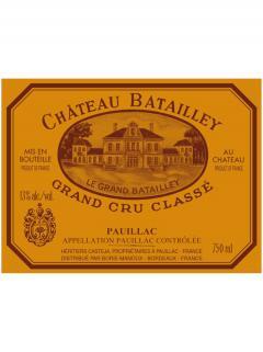 Château Batailley 2013 Original wooden case of 6 bottles (6x75cl)