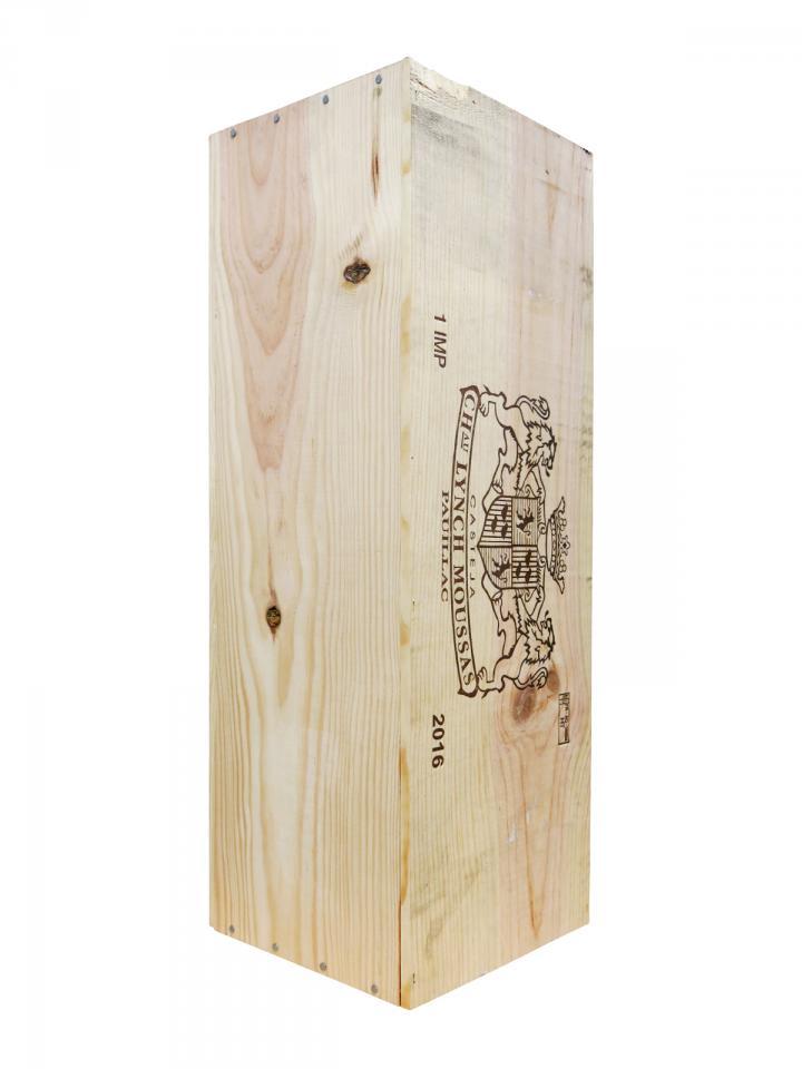Château Lynch-Moussas 2016 Original wooden case of one impériale (1x600cl)