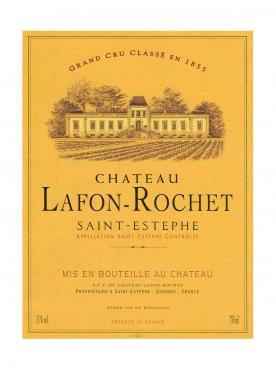 Château Lafon-Rochet 2014 Original wooden case of 6 bottles (6x75cl)