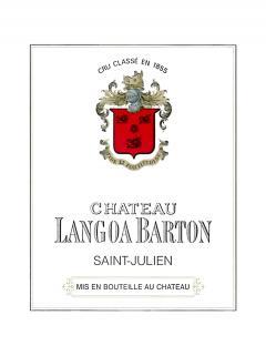 Château Langoa-Barton 2015 Original wooden case of 6 bottles (6x75cl)