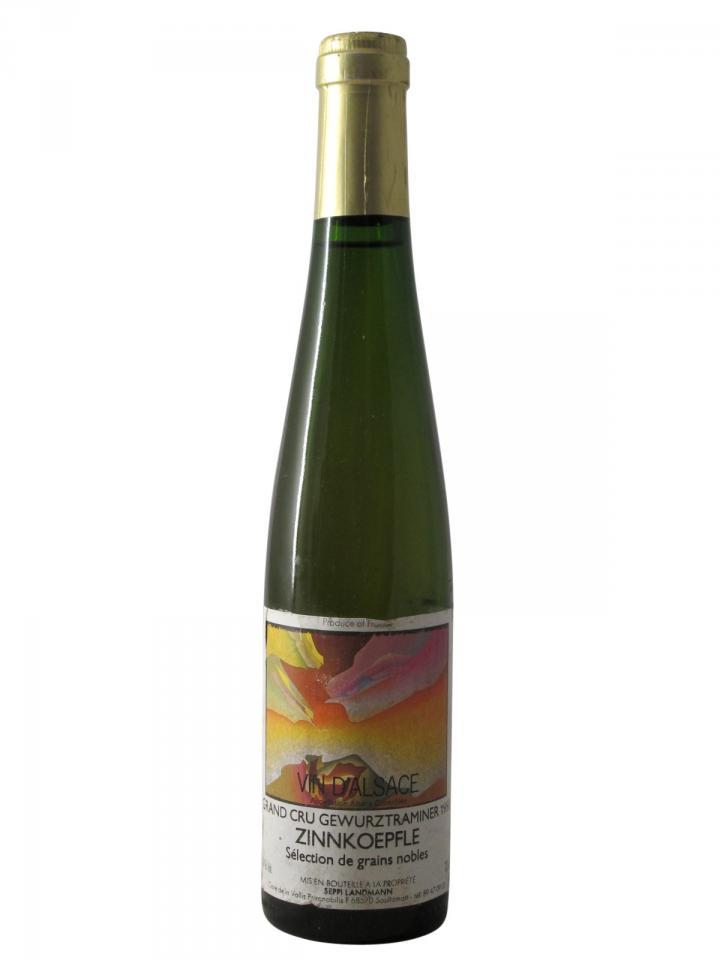 Gewürztraminer Grand Cru Zinnkoepfle Sélection de Grains Nobles Seppi Landmann 1990 Half bottle (37.5cl)