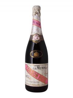 Champagne G.H Mumm Cordon Rosé Brut 1982 Bottle (75cl)