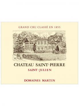 Château Saint-Pierre 2014 Original wooden case of one double magnum (1x300cl)