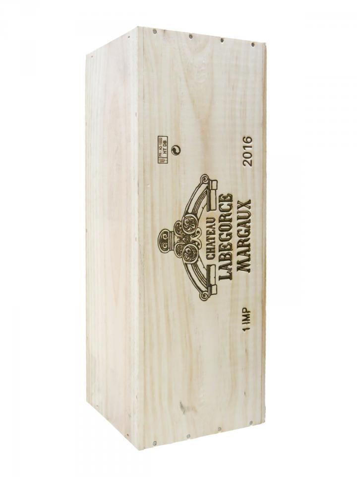 Château Labégorce 2016 Original wooden case of one impériale (1x600cl)