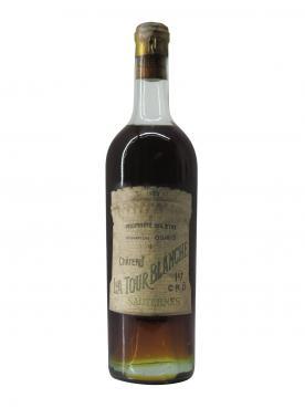 Château La Tour Blanche 1922 Bottle (75cl)