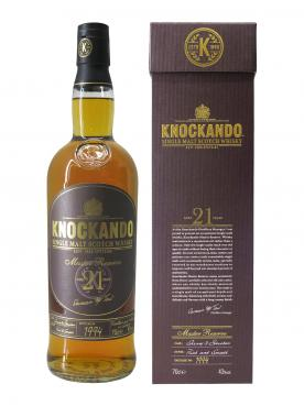 Whisky Knockando Aged 21 Years Knockando Distillery Non vintage Bottle (70cl)